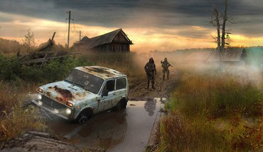 S.t.a.l.k.e.r. cars vehicles HD wallpaper