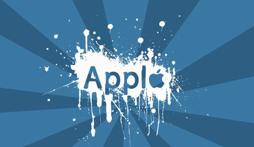 """Apple Inc"". purslų  HD wallpaper"