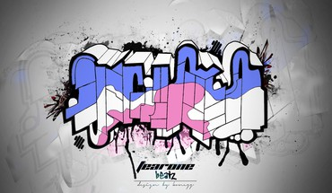 Graffiti kūrinys speedart  HD wallpaper