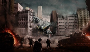 Cloverfield fans fantasy art HD wallpaper