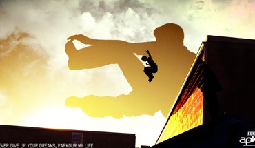 Gyvenimo parkour  HD wallpaper