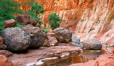 Paysages canyon mexique oasis parc national caché  HD wallpaper