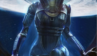 Mass Effect 2 Tali Sorea NAR rayya HD wallpaper