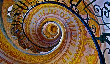 Stairways HD wallpaper