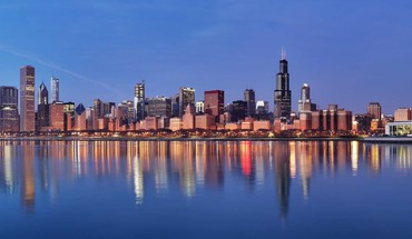 Cityscapes lake michigan HD wallpaper