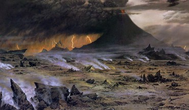 Mordor montagne foi Amon Amarth Ted Nasmith  HD wallpaper