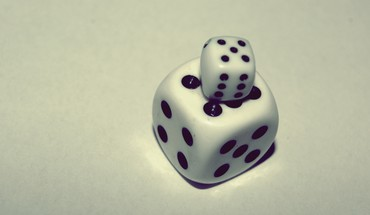 Dice macro HD wallpaper