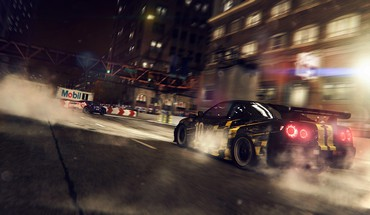 Video games cars nissan skyline grid 2 HD wallpaper
