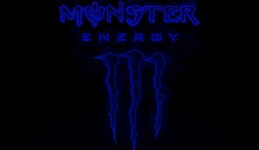 Monster Energy blue  HD wallpaper