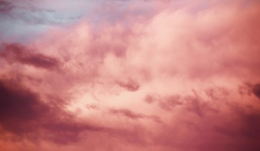 nuages ​​roses ciels  HD wallpaper