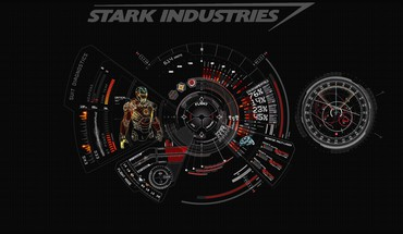 Iron man red stark industries HD wallpaper