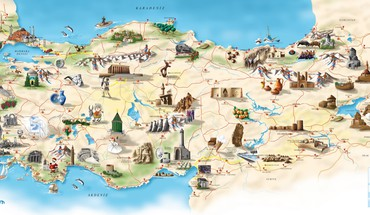 Turkey maps HD wallpaper