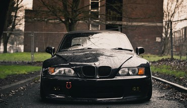 Bmw cars vehicles sports front view z3 HD wallpaper