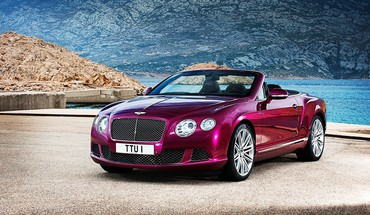 cabriolet Bentley Continental gt  HD wallpaper