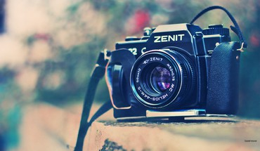 Photo camera old zenit zenith shoot film photographer HD wallpaper