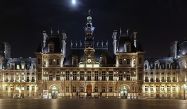 Hotel de ville paris HD wallpaper