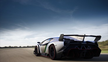 Supercars italian rear angle view hypercars veneno HD wallpaper
