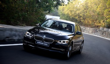 Bmw 3 series li front HD wallpaper