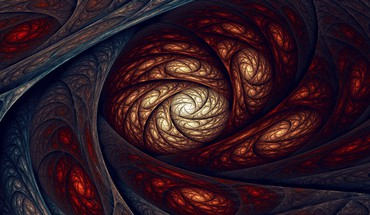 Digital art fractal HD wallpaper