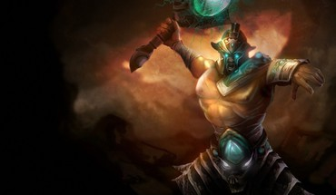 Video games tryndamere HD wallpaper