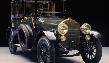Mercedes-benz 1912 vintage car HD wallpaper