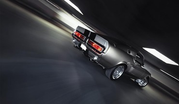 Ford shelby mustang king drag car elanor HD wallpaper