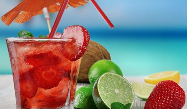 fraises Fruits limes cocktail complexe le magazine naturelle  HD wallpaper