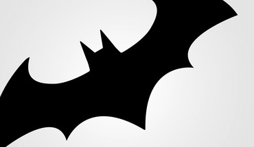 Comics digital art simple background batman logo HD wallpaper