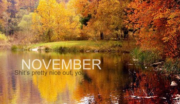 Calendar november HD wallpaper