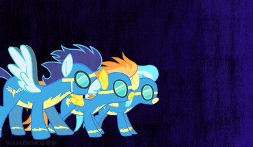 Pony: friendship is magic soarin wonderbolts spitfire HD wallpaper