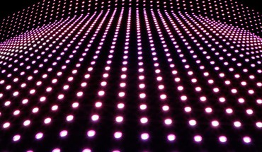 Light dots HD wallpaper