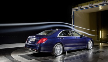 Cars s class wind tunnel mercedes benz HD wallpaper