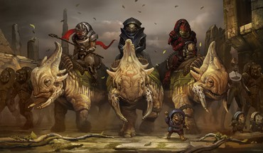 Art grognement illustration 3 krogan Wrex équitation  HD wallpaper