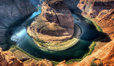 Water landscapes canyon rivers big bend national park HD wallpaper
