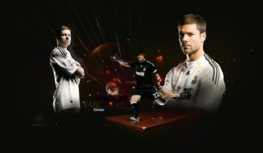 "Xabi Alonso Madrido ""Real""  HD wallpaper"