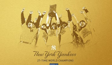 Baseball MLB New York Yankees Meisterschaft  HD wallpaper