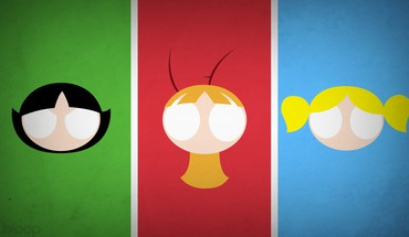 Superheroes Powerpuff Girls blo0p HD wallpaper