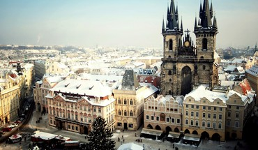 Cityscapes prague HD wallpaper