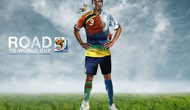 Soccer world cup football player HD wallpaper