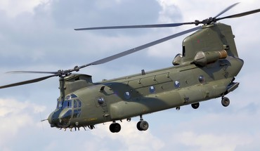 Orlaivio CH-47 Chinook syncropter  HD wallpaper