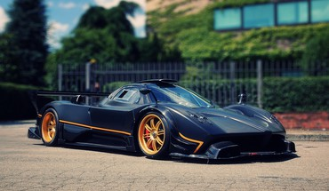 Pagani zonda r HD wallpaper