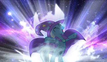Ponies trixie my little pony: friendship is magic HD wallpaper