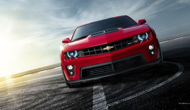 Chevrolet cars front view roads vehicles HD wallpaper