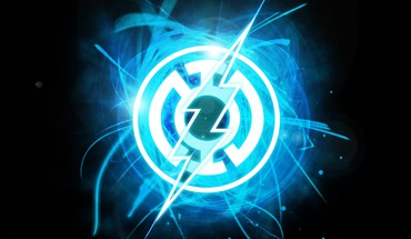 Azul dc comics green lantern flash HD wallpaper