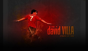 Soccer spain david villa football player HD wallpaper