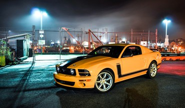 Ford mustang cars muscle speed street HD wallpaper