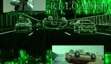 Matrix reloaded HD wallpaper