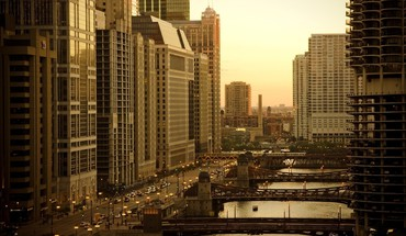 Urbains architecture de Chicago villes  HD wallpaper
