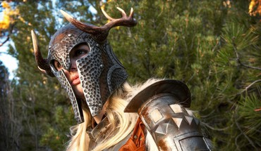 Helmets the elder scrolls v: skyrim portraits HD wallpaper