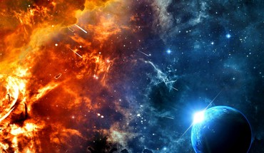 Space hell HD wallpaper